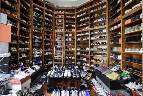 DJ Khaled's Miami home has been on the market for a year, and now it's gotten a 25% price cut. Here's a look inside the mansion that includes a closet fit for 500 pairs of sneakers