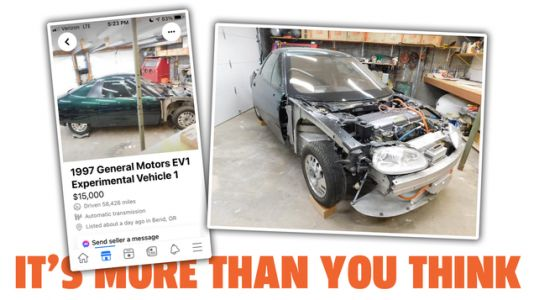 An Ad Selling a GM EV1 On Face Book Seems Fake, But The Car Is Real And Stranger Than You'd Think
