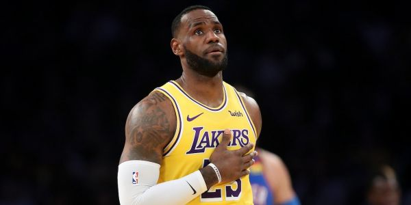LeBron James said Lakers assistant coach Jason Kidd immediately chastised him for being too sloppy with the ball after a historic triple-double