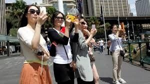 Chinese tourists are now surpassing others in tourism spending