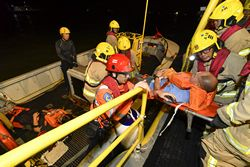 Annual Aircraft Crash and Rescue Exercise Conducted at Three-runway System Worksite