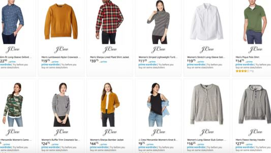 J.Crew Is Up to 50% Off on Amazon Today