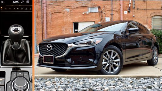 The 2019 Mazda 6 Will Lose the Manual Transmission: Report