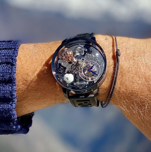 The Story Behind the Jacob & Co Astronomia Everest Watch