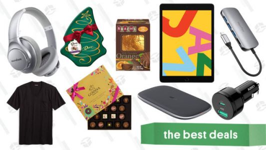 Tuesday's Best Deals: iPads, Aukey Accessories, Holiday Chocolates, and More