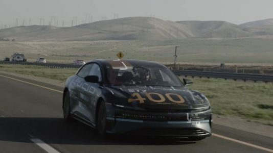 A Lucid Air Prototype Delivered Over 400 Miles On A Charge