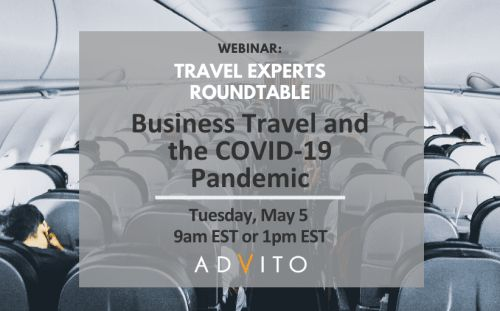 May 5 webinar: Business travel and the COVID-19 pandemic