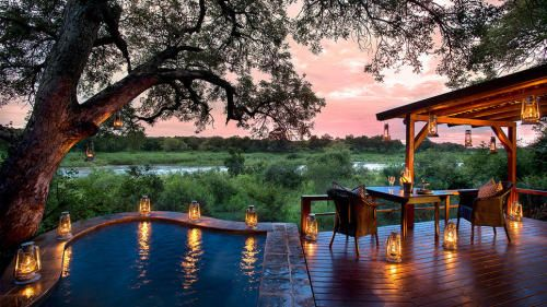 Kruger National Park, South Africa Nestled on the banks of the