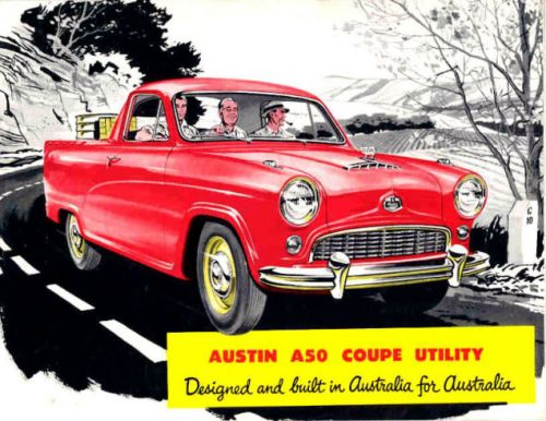 Remember when Australia was populated with 3/4th-scale humans that made Austin A50s look colossal?