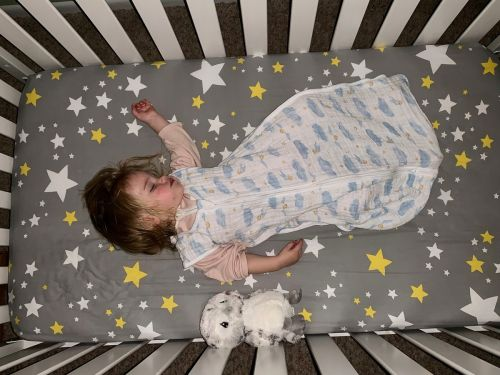 I want my daughter to love Harry Potter as much as I do - that's why I love these printed swaddles and blankets