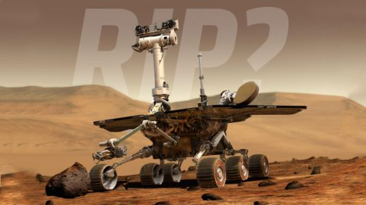 The Plucky Opportunity RoverMay Finally Have Died on the Cold, Red Surface of Mars