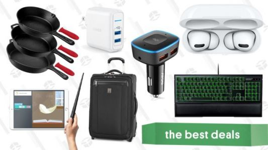 Wednesday's Best Deals: AirPods Pro, Cast Iron Pans, Anker Chargers, And More
