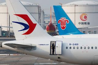 China's domestic aviation recovers, but only mildly, from virus shutdowns