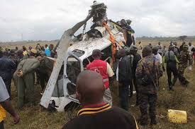Helicopter crash in Turkana kills all 5 on-board passengers