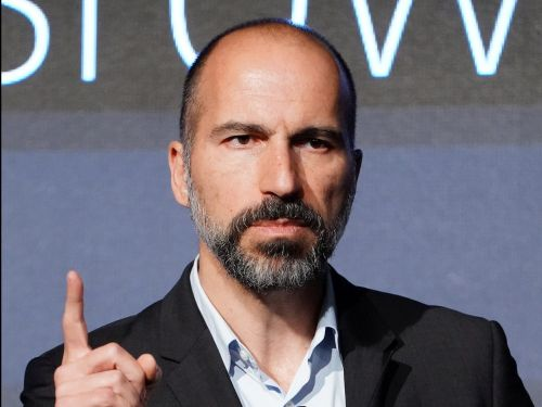 Uber's CEO took a shot at labor groups, accusing them of being driven by 'politics' in the massive fight over drivers' employment status