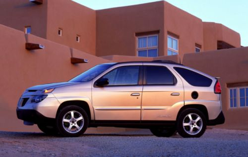 The Pontiac Aztek doubles down by using two native American names