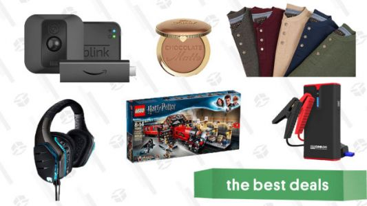 Tuesday's Best Deals: Logitech Gaming Headsets, LEGO Harry Potter Set, Cozy Waffle Knits, and More