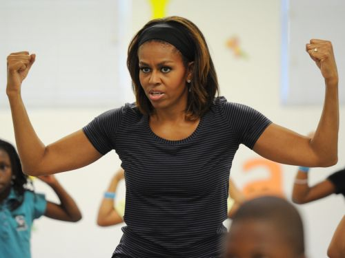 Michelle Obama posted a rare gym photo on Instagram as a reminder that working out is worth it even if it 'doesn't always feel good'