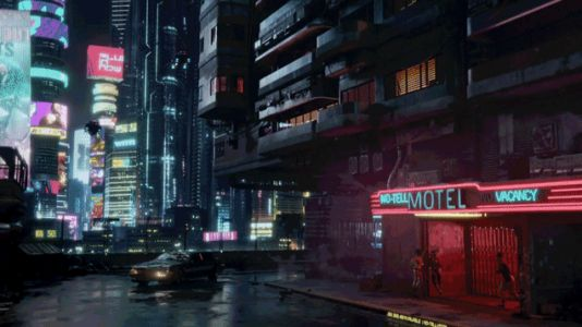 There Are Fully Autonomous Cars in Cyberpunk 2077
