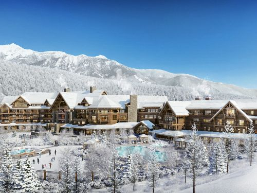 The construction site for a $400 million luxury hotel in Big Sky, Montana, has led to more than 100 coronavirus cases