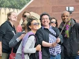 Election tourism in India is new holding a lot of interest from foreign visitors