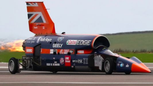 The 1000 MPH Bloodhound Project Saved From Brink, Pursuit of Absurd Speed Continues