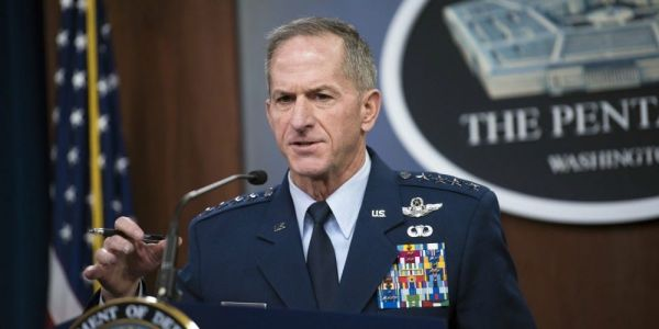 The US Air Force's top general says all Americans 'should be outraged' by George Floyd's death and the actions of the police
