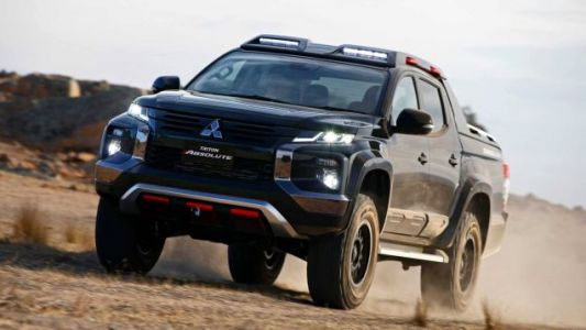 The Mitsubishi Triton Absolute Will Not Apologize for All That Carbon Fiber