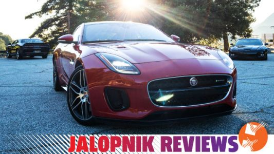 The 2019 Jaguar F-Type V6 May Be Old But It Still Rips