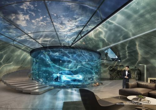 Aston Martin is launching a bespoke garage service for customers who want to build underwater lairs and galleries for their cars