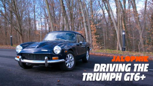 The Triumph GT6+ Is Proof Old British Sports Cars Are Worth It