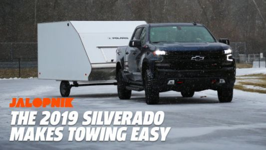 Here's How the 2019 Chevy Silverado Uses Tech to Take the Headache Out of Towing