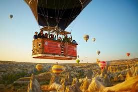 Hot air balloon tours, the most well-liked activity of Cappadocia region in Turkey!