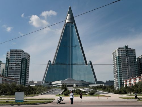 The story behind North Korea's 1,080-foot 'Hotel of Doom,' an abandoned skyscraper that has never hosted a single guest