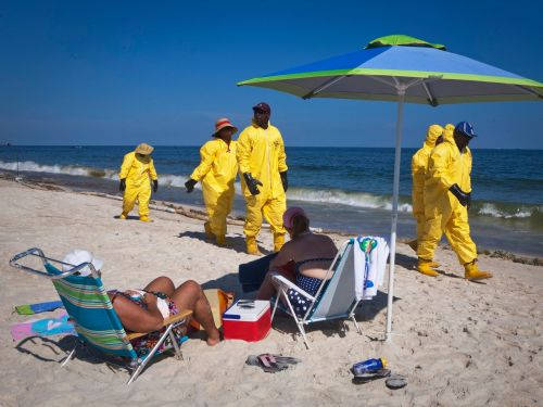 AMERICAN RESILIENCE: A decade after recovering from the Deepwater Horizon oil spill that left their beaches covered in tar, Gulf towns face another existential threat - the coronavirus pandemic