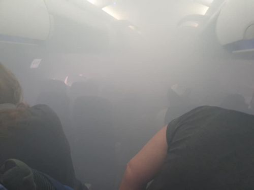 Passengers who took a British Airways flight that filled with smoke 2 months ago say they still have breathing problems