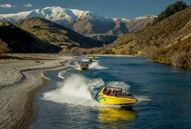 Jet boating pioneers celebrate 60 years of Queenstown adventure thrills