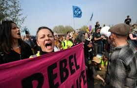Easter travel disruption in Heathrow , Eco-protestors vow to shut down