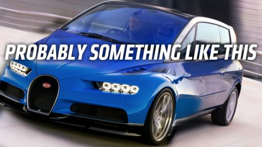 Bugatti Says Its New Car Will Have a Body 'Which is Not Today on the Market' But What Could That Be?