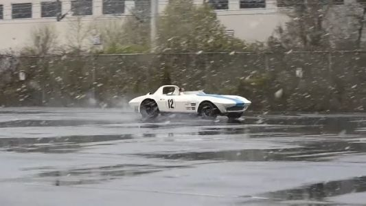 I Can't Think of a Single Reason Why You Shouldn't Drive a Corvette Grand Sport In a Snow Storm