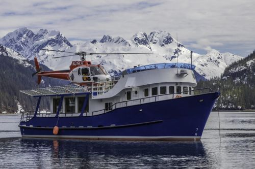 Explore Alaska via Pelorus's Private Yacht