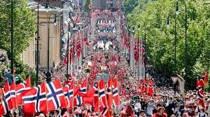 Norway celebrating Constitution Day with country's largest parade in Oslo