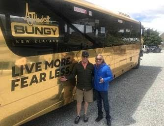 Kiwi bungy pioneers still thrill seeking 30 years on