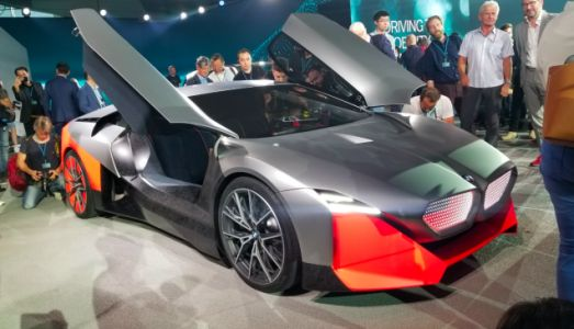 The 600 Horsepower BMW Vision M NEXT is BMW's Idea of a Hybrid Driver's Car of the Future