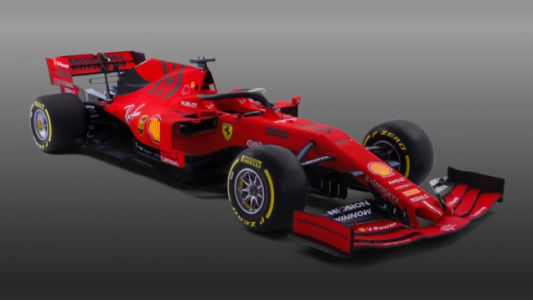 The Ferrari F1 Team's 2019 Car Livery Goes Matte for Performance Reasons