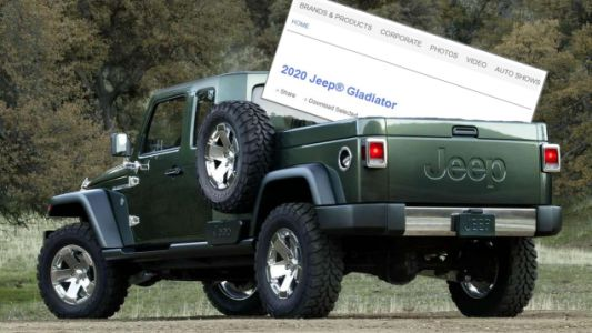 The Jeep Gladiator May Be the Name of Your New Wrangler Pickup