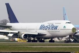 Medview Airline transporting 10,000 pilgrims from the Hajj
