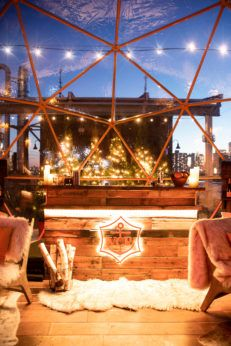 Clicquot Chalet Brings Après Ski to NYC's Mr Purple