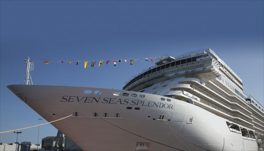 Regent Seven Seas Cruises and Shipbuilder Fincantieri float out Seven Seas Splendor