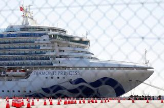 Taiwan to evacuate citizens from virus-stricken cruiseship in Japan